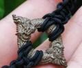 龙婆闲 双龙环 为双龙食尾的法相